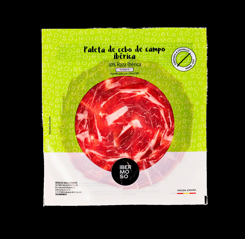 Paleta de Cebo de campo Ibérica | Cortada a cuchillo